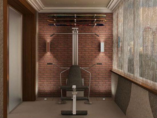 Переделка балкона в комнату для занятий спортом