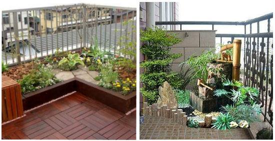 Растения играют не последнюю роль в дизайне балкона