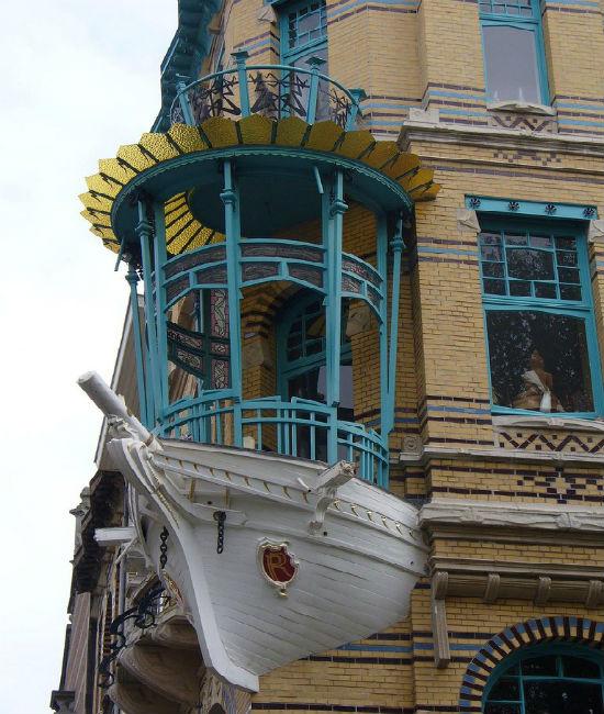 Креативное решение для дизайна балкона