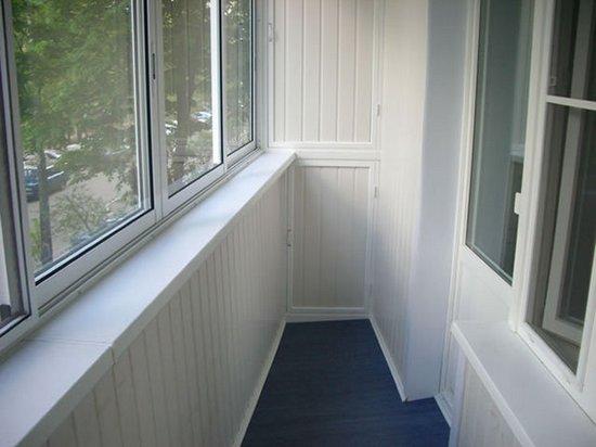 Евроремонт балкона