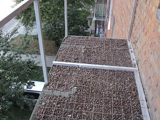 Ремонт плиты балкона