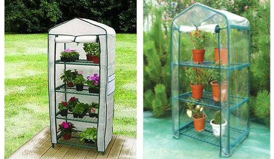 Компактная теплица для балкона для цветов