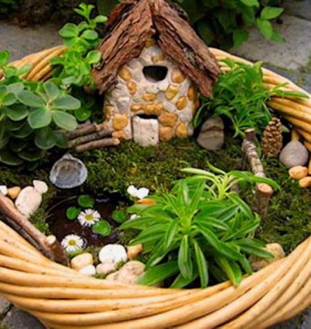 Дизайн для зимнего сада