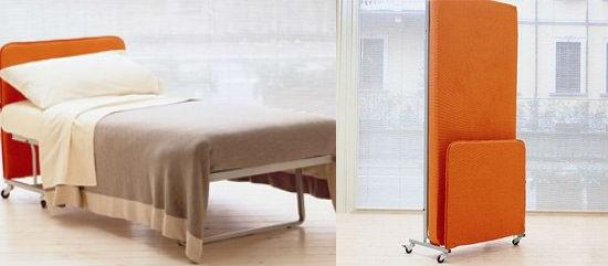 Складывающаяся кровать для балкона