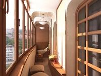 Балкон переделанный в комнату