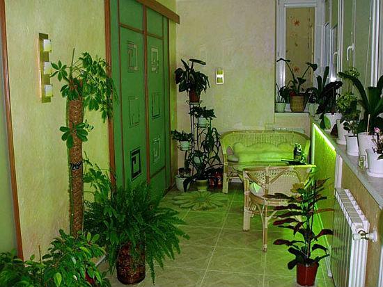 Светодиодная подсветка для растений на балконе