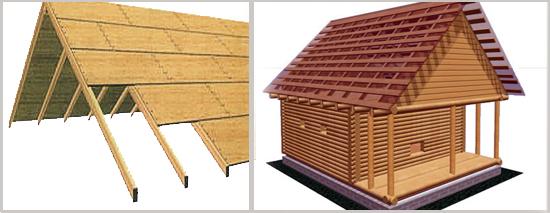 Сплошная и разреженная обрешетка мансардной крыши