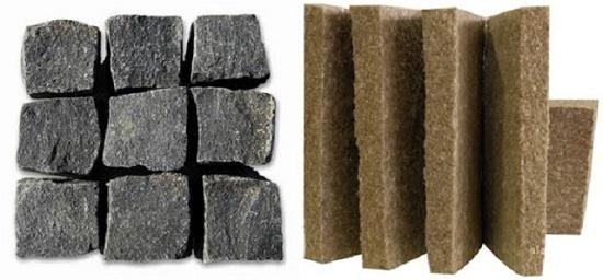 Шлаковата и базальтовая вата для утепления мансарды
