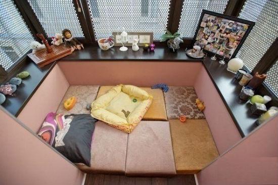 Диванная комната на лоджии