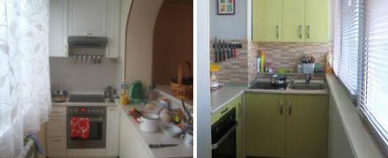 Мебель для кухни на лоджии