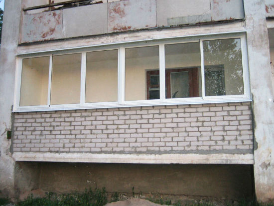 Ремонт крыши лоджии