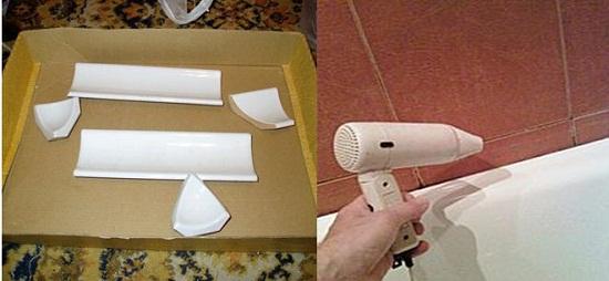 Подготовка поверхности для установки плинтуса
