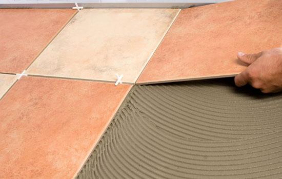 Укладка плитки на крыльцо и ступени