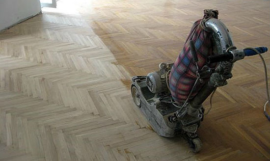 Машинка для циклевки паркета