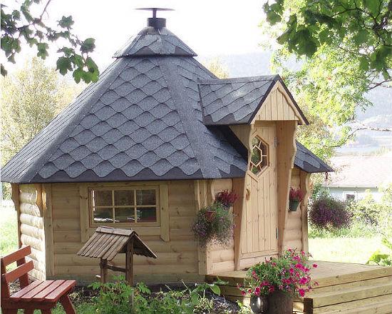 Беседка-домик лапландка