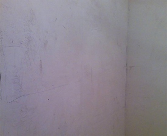 Выравнивание стен санузла