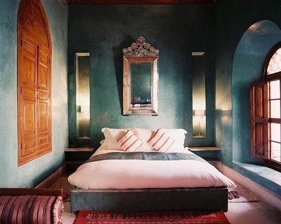 Марокканский стиль оформления спальни