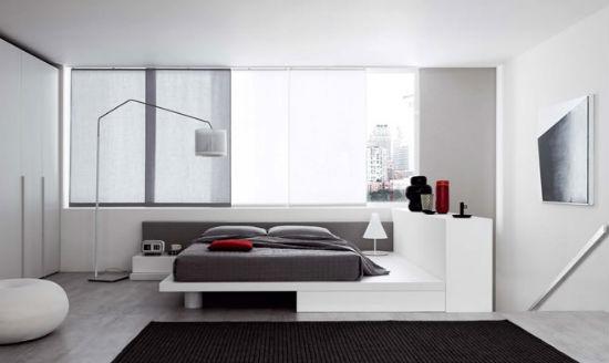 Стиль хай тек в дизайне спальни