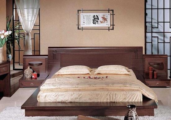 Классический японский стиль в оформлении спальни