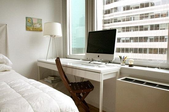 Настольная лампа для освещения рабочего места в спальне