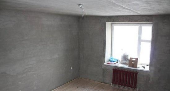 Очистка стен от старой отделки перед ремонтом спальни