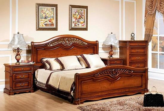 Прикроватные лампы с красивым абажуром в освещении спальни