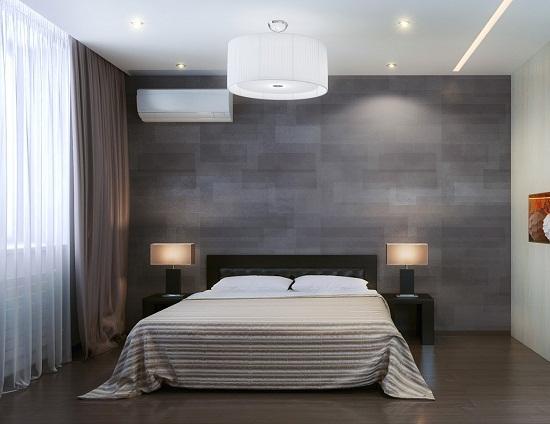 Пример дизайна спальни в минималистическом стиле