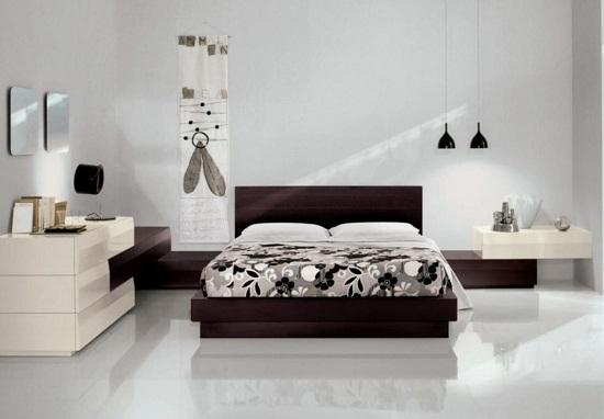 Стиль модерн в оформлении интерьера спальни