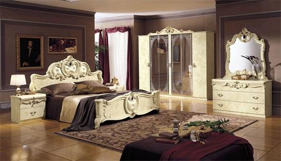 Комод в итальянском стиле для классической спальни