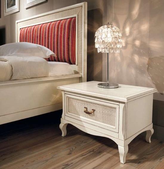 Классический дизайн прикроватной тумбочки для спальни