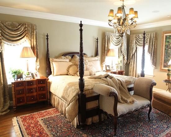 Элементы классики в создании интерьера спальни