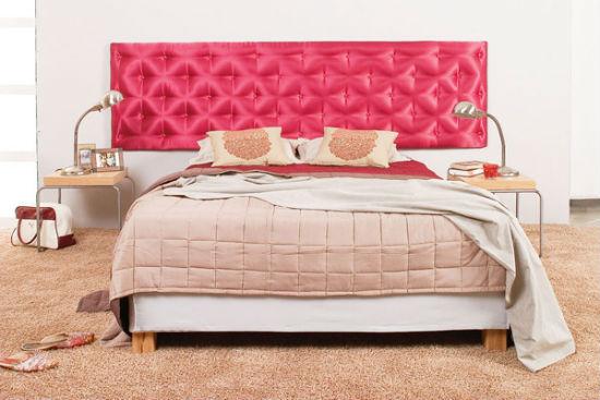 Мягкое ковролиновое покрытие пола в спальне