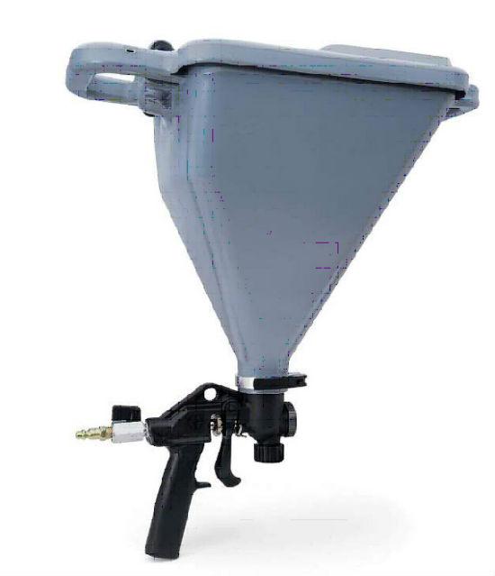 Специальный пневмопистолет для нанесения штукатурки механизированным способом