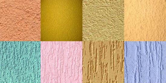 Наиболее используемые текстуры для нанесения штукатурки на стены