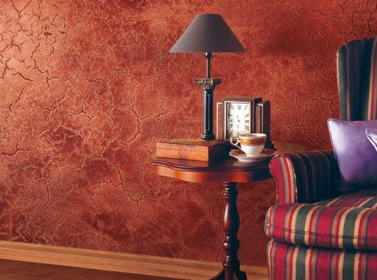Декоративная штукатурка в интерьере комнаты для отдыха