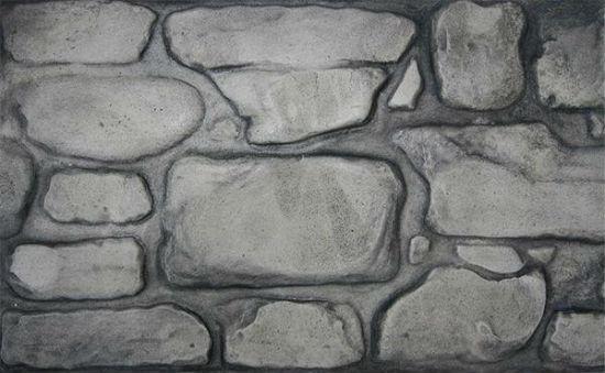 Декоративная штукатурка с текстурой под кладку натуральным камнем
