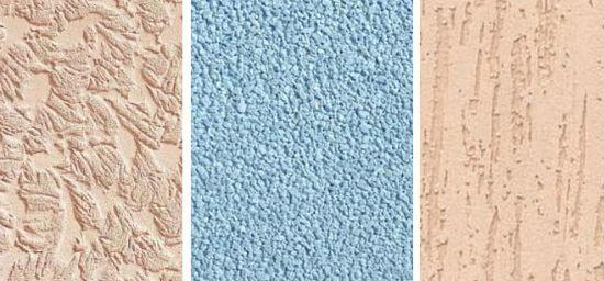 Текстурная штукатурка с добавлением силикона для ванной