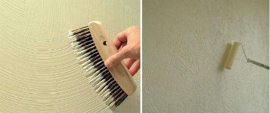 Способы получения различных текстур из обычной штукатурки