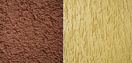 Популярные виды штукатурки шуба и короед для отделки фасадов