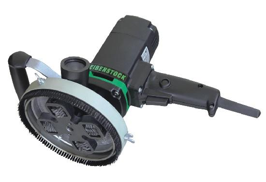 Шлифовально-обдирочная машина для снятия тонкого слоя штукатурки