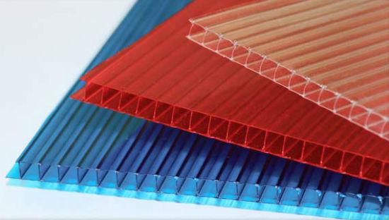 Листы цветного поликарбонат для изготовления навеса под машину